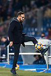 Coach Jose Bordalas Jimenez of Getafe CF reacts during the La Liga 2017-18 match between Getafe CF and Athletic Club at Coliseum Alfonso Perez on 19 January 2018 in Madrid, Spain. Photo by Diego Gonzalez / Power Sport Images