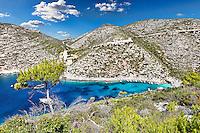 Porto Vromi in Zakynthos island, Greece