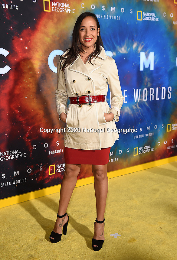 """LOS ANGELES - FEBRUARY 26: Dania Ramirez attends National Geographic's 2020 Los Angeles premiere of """"Cosmos: Possible Worlds"""" at Royce Hall on February 26, 2020 in Los Angeles, California. Cosmos: Possible Worlds premieres Monday, March 9 at 8/7c on National Geographic. (Photo by Frank Micelotta/National Geographic/PictureGroup)"""