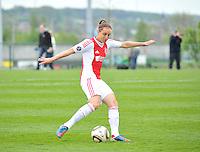 RSC Anderlecht Dames - Ajax Amsterdam : Leonne Stentler.foto DAVID CATRY / Nikonpro.be