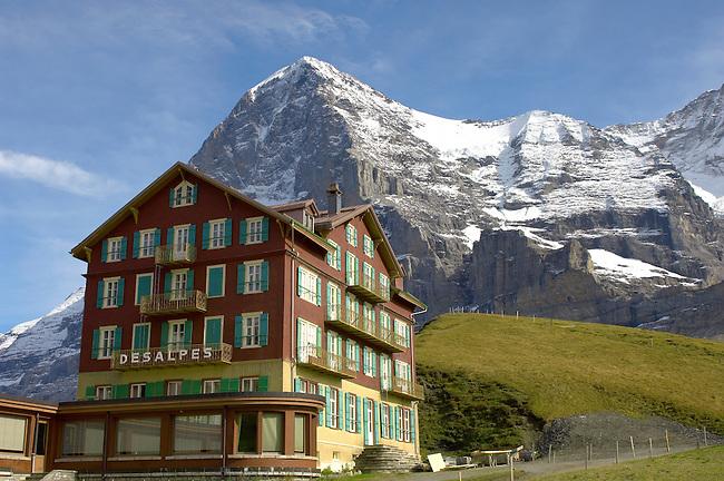 Jungfrau from Kleine Scheidegg - Grindelwald Switzerland