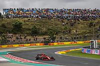 9th October 2021; Formula 1 Turkish Grand Prix 2021 Qualifying sessions at the Istanbul Park Circuit, Istanbul;   55 SAINZ Carlesp, Scuderia Ferrari SF21