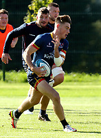 Tuesday 5th October 2021<br /> <br /> Ethan McIlroy during Ulster Rugby training at Newforge Country Club, Belfast, Northern Ireland. Photo by John Dickson/Dicksondigital