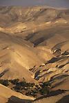 A view of Wadi Qelt in the Judean Desert