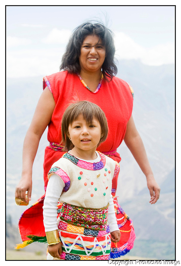 Pérou<br /> Abancay<br /> Fête Inca, Apu Ticay.