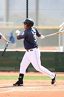 Matt Clark, San Diego Padres 2010 minor league spring training..Photo by:  Bill Mitchell/Four Seam Images.