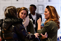 Manhattan, NY - Saturday March 03, 2018: Julie Foudy of during the SheBelieves Summit at the Nike NYC Headquarters.