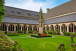 Deutschland, Nordrhein-Westfalen, Xanten: ehemalige Stiftskirche St. Viktor (Xantener Dom) - Kreuzgang | Germany, Northrhine-Westphalia, Xanten: Xanten cathedral - cloistered court