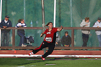 4 May 2008: Stanford Cardinal Michaela Wallerstedt during Stanford's Payton Jordan Cardinal Invitational at Cobb Track & Angell Field in Stanford, CA.