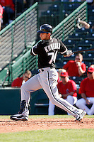 Josh Kroeger  -  Chicago White Sox - 2009 spring training.Photo by:  Bill Mitchell/Four Seam Images