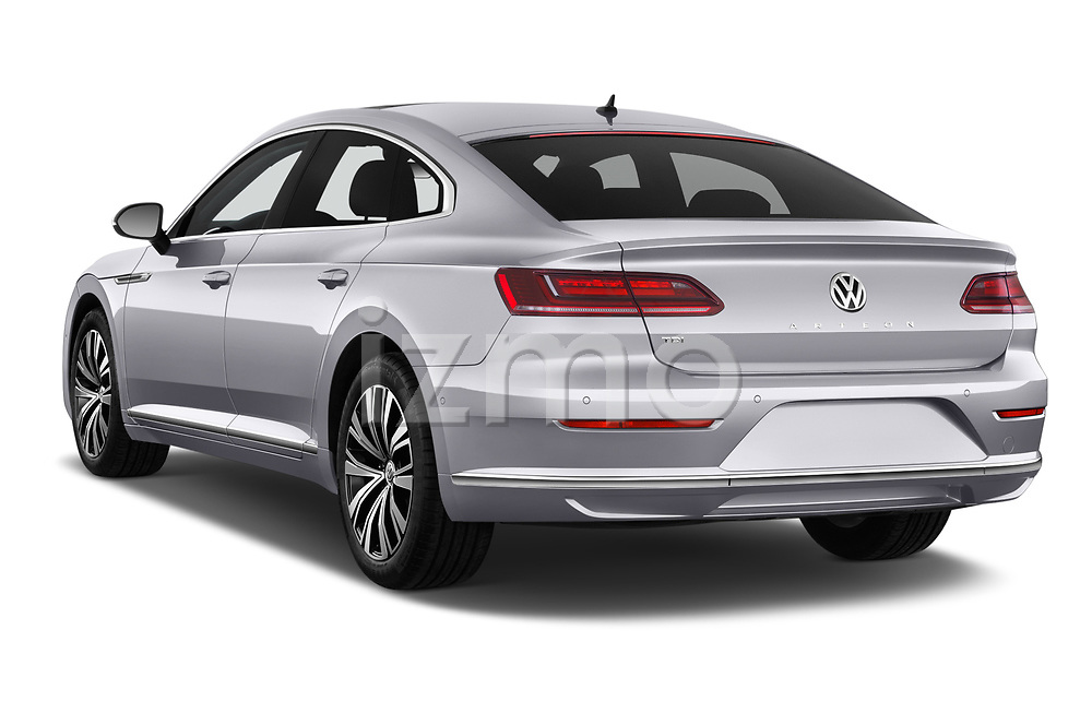 Car pictures of rear three quarter view of 2018 Volkswagen Arteon Elegance 5 Door Hatchback Angular Rear