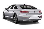 Car pictures of rear three quarter view of 2018 Volkswagen Arteon Elegance 5 Door Hatchback Angular Rear