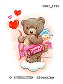 GIORDANO, CUTE ANIMALS, LUSTIGE TIERE, ANIMALITOS DIVERTIDOS, Teddies, paintings+++++,USGI1990,#AC# teddy bears