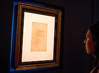 20150622 ROMA-CULTURA: L'AUTORITRATTO DI LEONARDO IN MOSTRA AI MUSEI CAPITOLINI