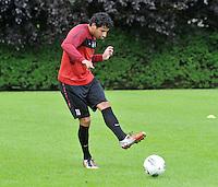 KV Kortrijk : Eerste training met Mario Carevic..foto VDB / BART VANDENBROUCKE