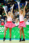 07.09.2011, Siemens Arena, Vilnius, LTU, FIBA EuroBasket 2011, Frankreich vs Tuerkei, im Bild Cheerleaders during basketball game between National basketball teams of Turkey and France at FIBA Europe Eurobasket Lithuania 2011, on September 7, 2011, in Siemens Arena,  Vilnius, Lithuania.France defeated Turkey 68-64. EXPA Pictures © 2011, PhotoCredit: EXPA/ Sportida/ Vid Ponikvar  +++++ ATTENTION - OUT OF SLOVENIA/(SLO) +++++