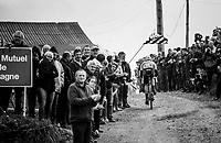 Alo Jakin (EST/St Michel - Auber93) cheered on <br /> <br /> 35th Tro Bro Leon 2018<br /> 1 Day Race: Le Carpont - Lannilis (FRA/203km)