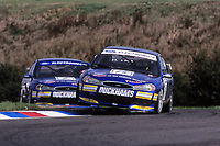 1997 British Touring Car Championship. #15 Paul Radisich (NZL) & #9 Will Hoy (GBR). Team Mondeo. Ford Mondeo.