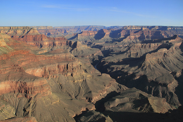 View from South Rim in Grand Canyon National Park, northern Arizona, USA .  John offers private photo tours in Grand Canyon National Park and throughout Arizona, Utah and Colorado. Year-round.