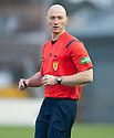 Referee Alan Newlands .