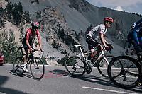 Alberto Contador (ESP/Trek-Segafredo) up the Col d'Izoard (HC/2360m/14.1km/7.3%)<br /> <br /> 104th Tour de France 2017<br /> Stage 18 - Briancon › Izoard (178km)