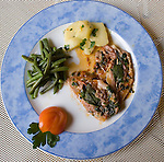 Platter, Mastro Cilegia Restaurant, Florence, Tuscany, Italy