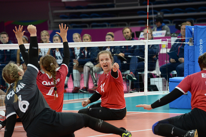 Heidi Peters, Lima 2019 - Sitting Volleyball // Volleyball assis.<br />