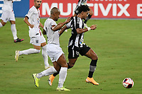 Rio de Janeiro (RJ), 07/03/2021 - Botafogo-Resende - Jogador do Botafogo,durante partida contra o Resende,válida pela 2ª rodada da Taça Guanabara,realizada no Estádio Nilton Santos (Engenhão), na zona norte do Rio de Janeiro,neste domingo (07).