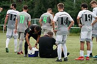 Schiedsrichter muss behandelt werden - Rüsselsheim 22.08.2021: SV Alemannia Königstädten vs. SKG Stockstadt, Kreisliga A