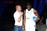 GRONINGEN - Basketbal , Open Dag met Donar - Antwerp Giants , voorbereiding seizoen 2021-2022, 05-09-2021,  Donar speler Lotanna Nwogbo