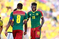 Cameroon's Robert Ndip Tambe dejected during international friendly match. June 13,2017.(ALTERPHOTOS/Acero) (NortePhoto.com) (NortePhoto.com)