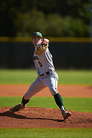 Dartmouth Big Green pitcher Justin Murray (5) during a game against the Omaha Mavericks on February 23, 2020 at North Charlotte Regional Park in Port Charlotte, Florida.  Dartmouth defeated Omaha 8-1.  (Mike Janes/Four Seam Images)