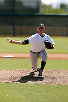 Kyle Bellamy - Chicago White Sox 2009 Instructional League. .Photo by:  Bill Mitchell/Four Seam Images..