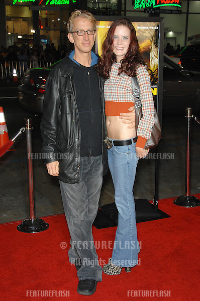 """ANDY DICK & date Wendy at the US premiere of """"The Fountain"""" at Grauman's Chinese Theatre, Hollywood..November 11, 2006  Los Angeles, CA.Picture: Paul Smith / Featureflash"""