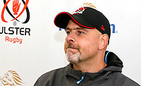 23rd September 2019   Ulster Match Briefing<br /> <br /> Ulster Rugby Head Coach Dan McFarland  during the Ulster Rugby Match Briefing ahead of Ulster's opening PRO14 League clash against the Ospreys at Kingspan Stadium on Friday. Photo by John Dickson / DICKSONDIGITAL