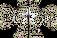 Nordzypern, Lala Mustafa Pasa-Moschee in Famagusta (Gazimagusa, Ammochostos), gegründet 1298 als Nikolaus-Kathedrale, Maßwerk-Fenster im Flamboyant-Stil