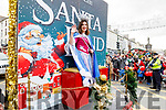 Laura Lee Curtin taking part in the CH Chemist's Santa Parade on Saturday.