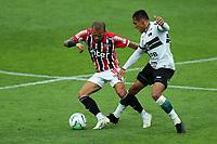 4th October 2020; Couto Pereira Stadium, Curitiba, Parana, Brazil; Brazilian Series A, Coritiba versus Sao Paulo;  Robson of Coritiba and Daniel Alves of Sao Paulo