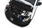 Car Stock 2018 Mercedes Benz Metris Cargo-Van 4 Door Cargo Van Engine  high angle detail view