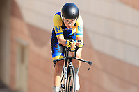 9th September 2021; Trento, Trentino–Alto Adige, Italy: 2021 UEC Road European Cycling Championships, Womens Individual time trials:  Ganna SOLOVEI (UKR)