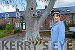 Miriam Moriarty Owens stands on the site of the former Magdalene Asylum on Friday.