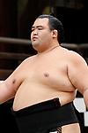 Kotoshogiku, <br /> APRIL 17, 2017 - Sumo : Yasukuni Shrine Honozumo is a ceremonial annual sumo tournament held in the precincts of the Yasukuni Shrine in Tokyo, Japan. (Photo by Yohei Osada/AFLO SPORT)