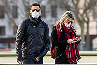 Coronavirus Masks London - 13.03.2020