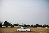 Abandoned pickup in field - Belgrade, Montana