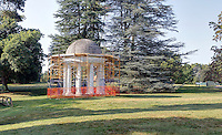Montpelier, the home of former president James Madison, located in Orange County, VA. Photo/Andrew Shurtleff