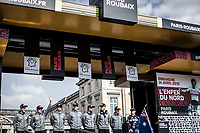 Team Mitchelton Scott<br /> <br /> Team Presentation Saturday<br /> <br /> 117th Paris-Roubaix (1.UWT)<br /> 1 Day Race: Compiègne-Roubaix (257km)<br /> <br /> ©kramon