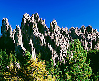 Cathedral Spires along Needles Highway Custer State Park South Dakota