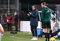 French Head Coach Corinne Diacre pictured during the Womens International Friendly game between France and Switzerland at Stade Saint-Symphorien in Longeville-lès-Metz, France.
