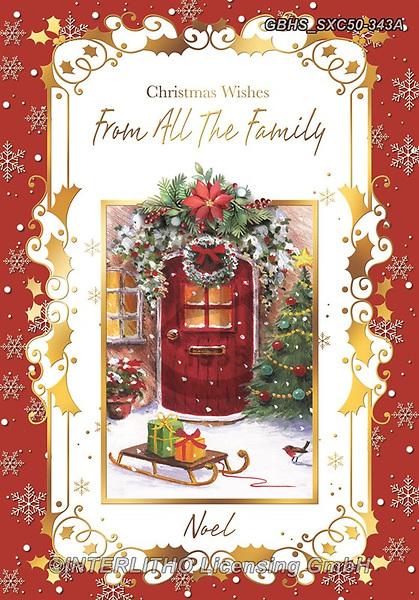 John, CHRISTMAS LANDSCAPES, WEIHNACHTEN WINTERLANDSCHAFTEN, NAVIDAD PAISAJES DE INVIERNO, paintings+++++,GBHSSXC50-343A,#xl#