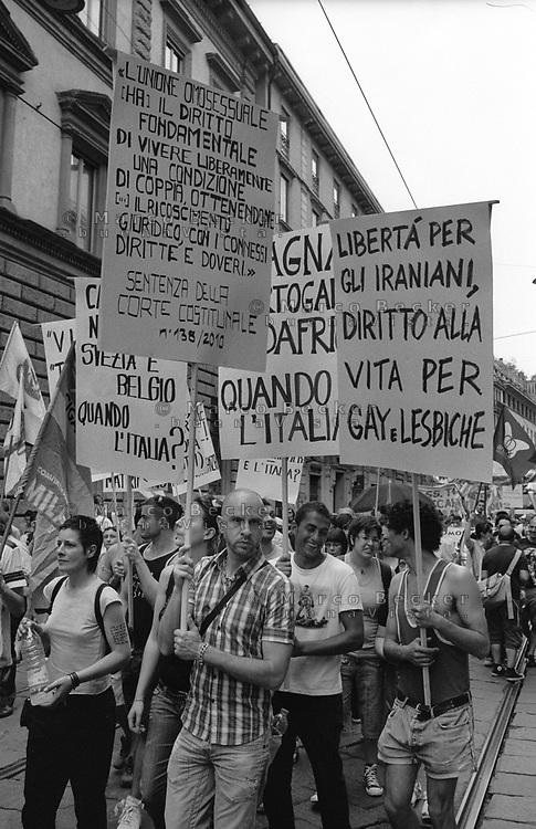 milano, gay pride parade --- milan, gay pride parade